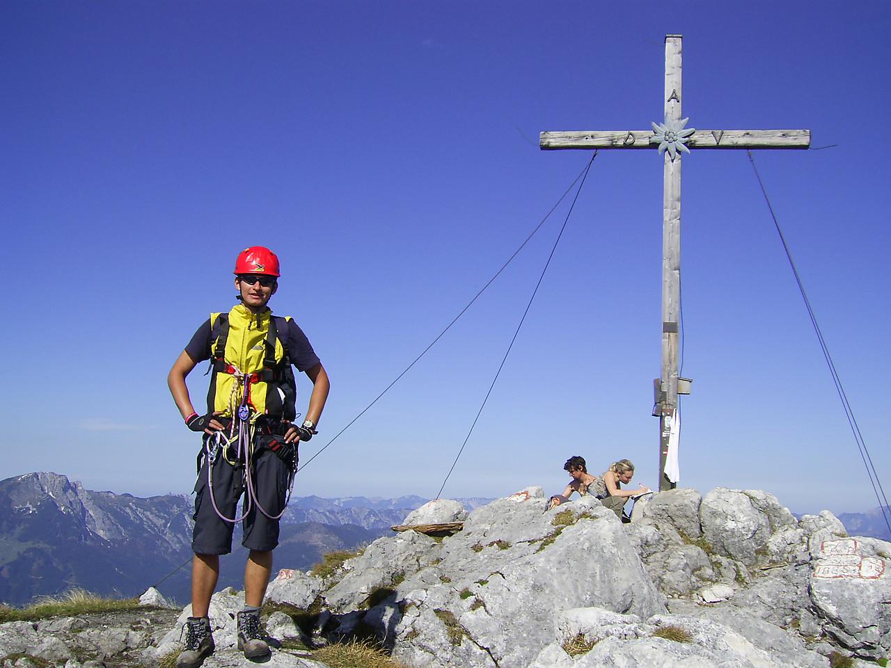 Klettersteig Donnerkogel : Gablonzer hütte intersport klettersteig c d